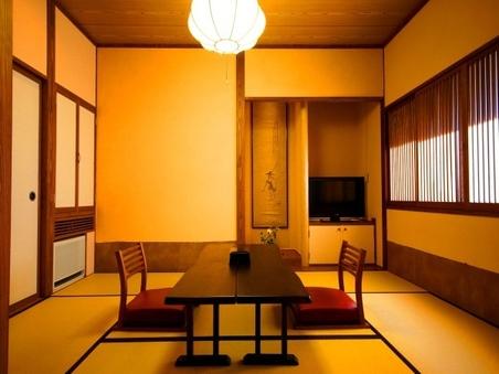 本館客室まなご(7・5畳和室+10畳ベットルーム)トイレ付