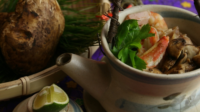 【秋の膳〜土瓶蒸し〜】松茸&牛すき焼き&のどぐろ◆食欲を満たす秋限定メニュー!限定特典付き♪