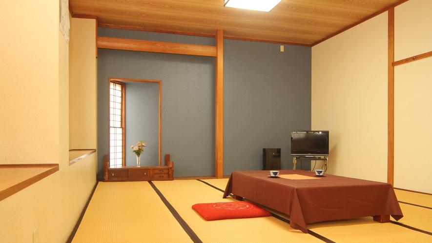 静かでゆっくりとお寛ぎただける和室
