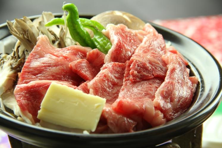 《匠の膳~takumi~ 一例》新発田産和牛の陶板焼き