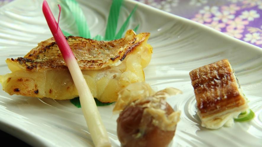 《恵の膳~megumi~ 一例》赤魚の西京焼き