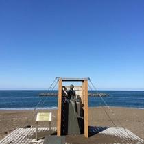 恋人の聖地「鵜の浜温泉海岸」