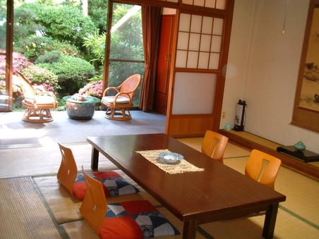 (平日)落ち着いた雰囲気の和室