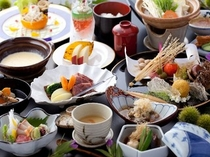 和風会席のお料理です。(料理1例)