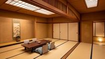 【禁煙】東の荘/広々和室/主室は18畳ございますので、皆で一緒にお休みいただけます。女子会にも♪