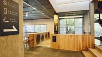 新設のキッズスペースは四方を囲み、床と柱はクッション仕様です。少しずつおもちゃを拡充いたします!