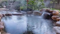【大浴場露天風呂(男性)】露天風呂の湯温はおおよそ41.0℃~41.5℃に保っております。