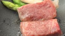 【グレードアップ】「黒毛和牛ステーキ」はしっかり100g!口の中で!