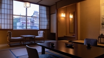 【禁煙】東の荘/和室/お部屋からは玉造温泉街が望めます。