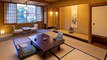 【禁煙】東の荘/和室/全室40㎡以上で広々とご利用いただけます。
