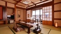 【客室】天然の銘木を使った和室【叢林亭】 禁煙・Wifi完備