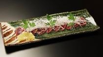 【別注料理】鹿肉のたたき 1,650円