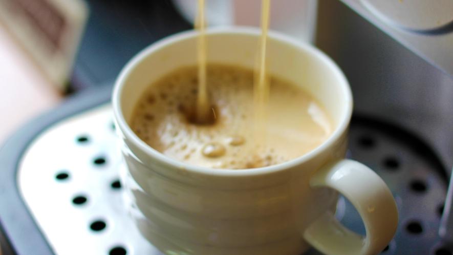 ●ウェルカムコーヒー(無料)