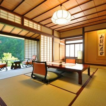 【禁煙】介山荘一般客室◇和室10畳+広縁