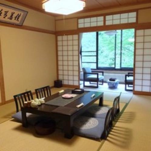 【牧水荘】落ち着いたひとときを過ごせるシンプルな和室