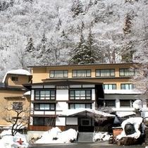 真っ白な雪に覆われシンと静まり返る冬