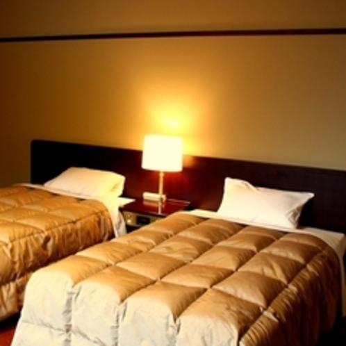 当館で1部屋のみの洋室。セミダブルベッドで広々快適♪