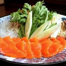 2012冬のほっこりお鍋「信州サーモンしゃぶしゃぶ鍋」