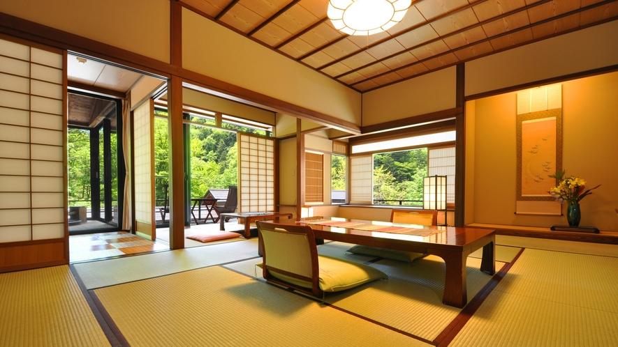 介山荘半露天風呂付き客室
