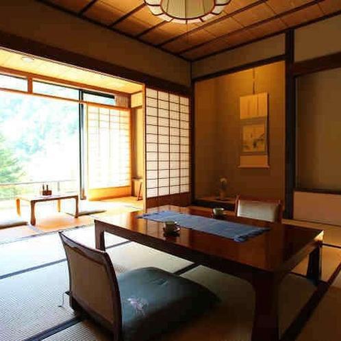 【介山荘一般客室】離れの静かなお部屋でごゆっくりおくつろぎ下さいませ。