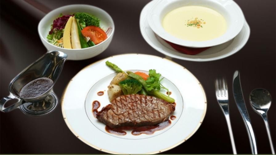 ちょっと贅沢に〜【2食付き】由利牛ステーキ150gセット〜