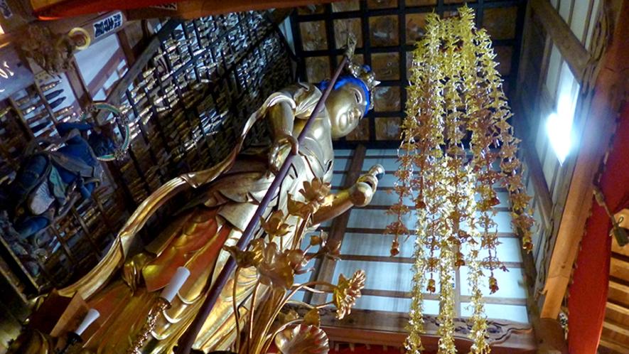 【赤田の大仏】日本三大長谷観音のひとつ ホテルから約7キロ