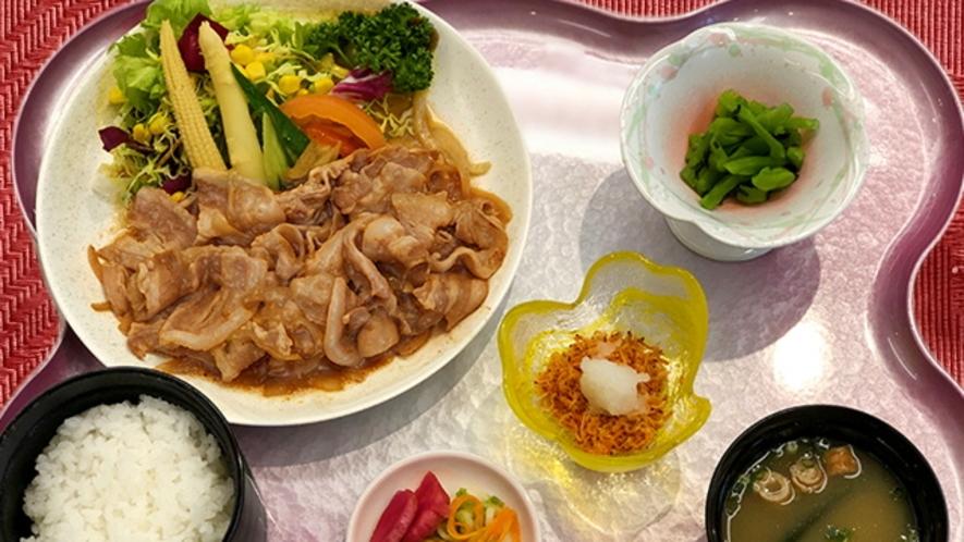 八幡平ポーク焼肉定食