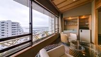海側客室からの景観