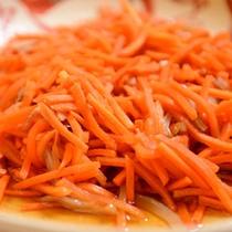 福島名物の郷土料理「いか人参」