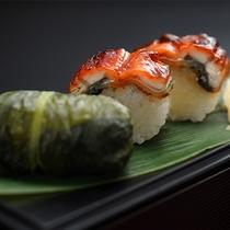 うなぎ棒寿司とめはり寿司(2017年10月~1月)