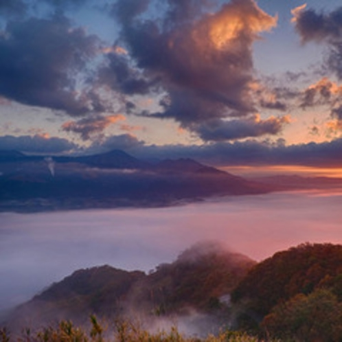 <秋・雲海チャレンジ>幻想的な世界を体験しよう♪