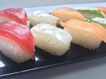 夕食バイキングお寿司