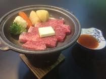福島牛ステーキ付