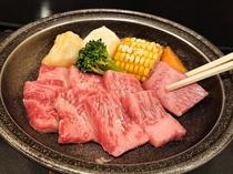 福島牛陶板焼き
