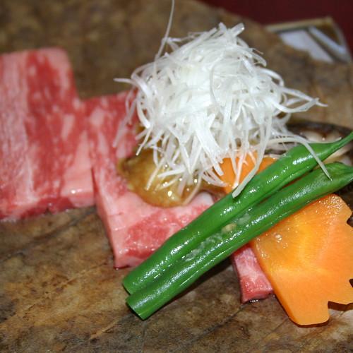上州牛の朴葉焼