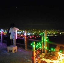 榛名湖イルミネーションフェスタ 山頂からの眺め