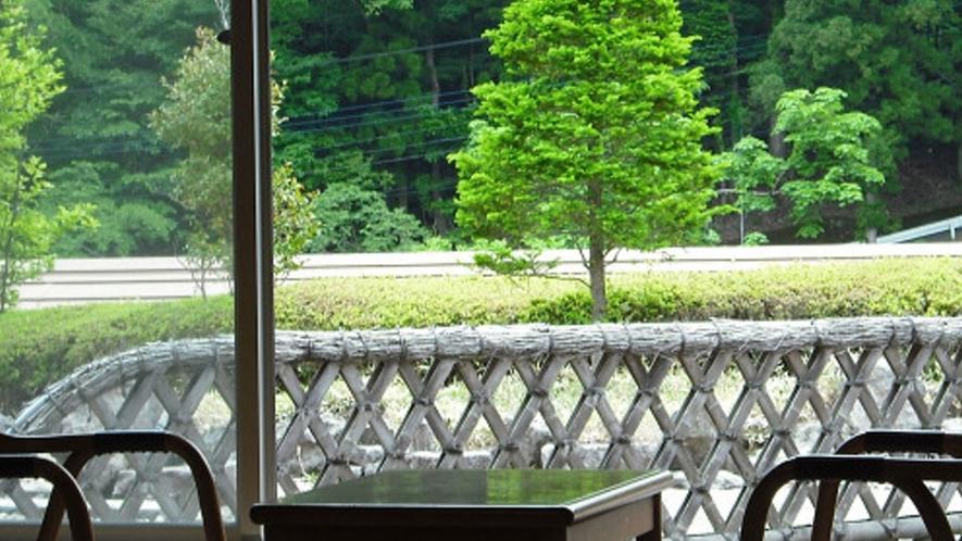清山館客室からの眺め