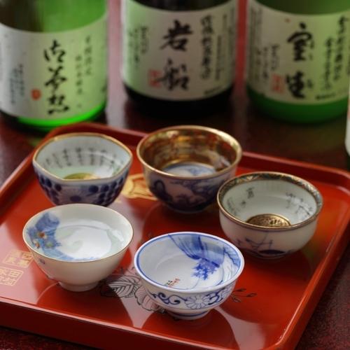 【四万たむらオリジナルラベルのお酒】「山桜」「御夢想」柴崎酒造・「森のこだま」永井酒造