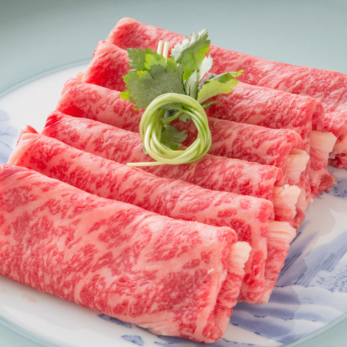 【上州牛のすき焼き】