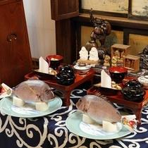 【たむらの歴史】恵比寿講 11月20日恵比寿様をお迎え、翌1月20日にお見送りします。