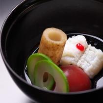 【お料理一例】日本の伝統を追求し 走り、旬、名残の食材にこだわった季節の懐石