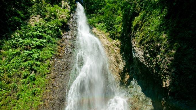 【暗門の滝散策】1993年世界自然遺産登録 ガイドと歩く、学ぶ。秘境「暗門の滝」へ/2食付