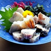 *刺身/海の町大洗の新鮮な魚介をお楽しみください。