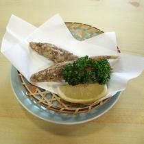 *お食事一例/刺身に揚げ物・・・魚介を様々な調理法でお楽しみ頂けます。