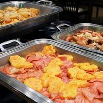 ☆朝食バイキングの料理一例①
