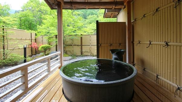 1階の露天風呂付客室
