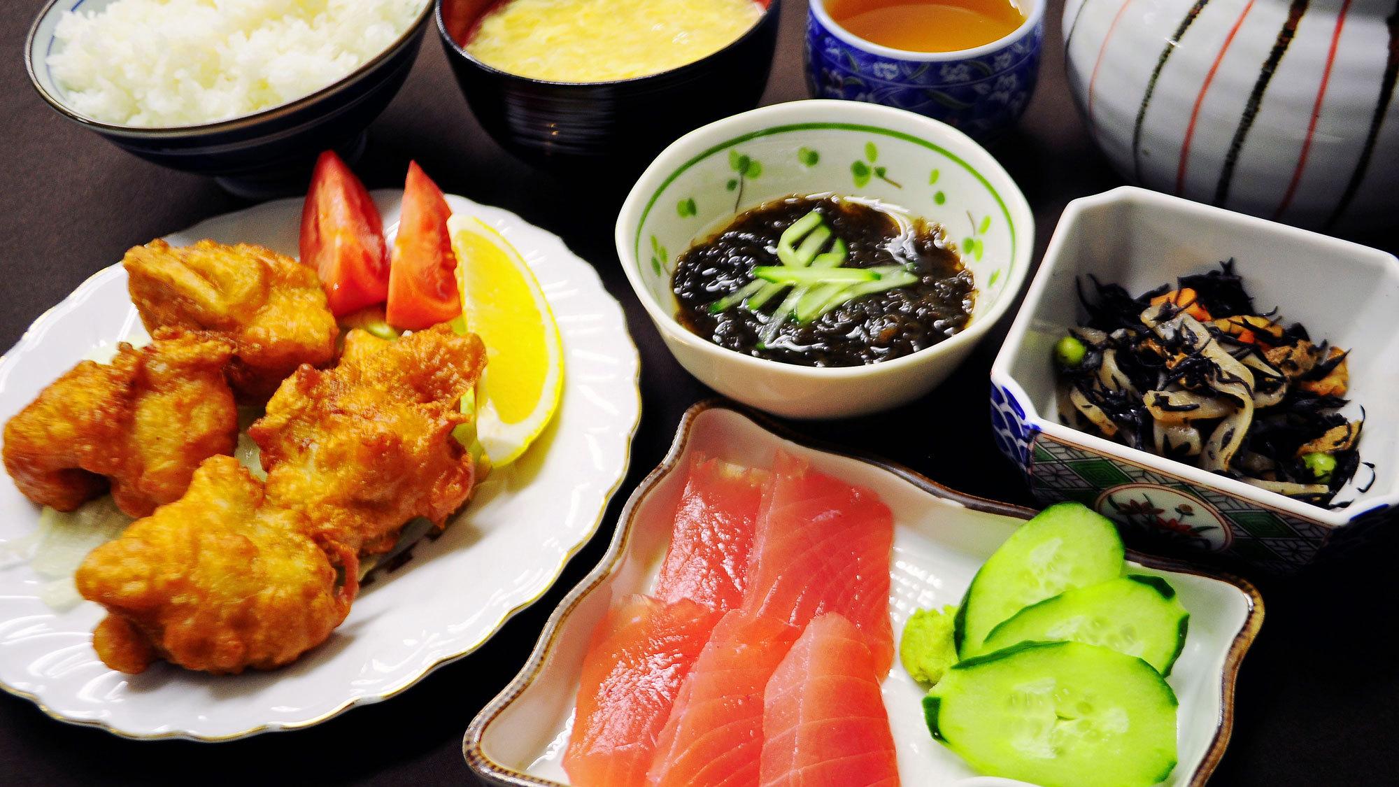 【夕食】栄養満点◎