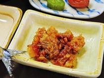 【朝食】沖縄特製の油みそも自慢です