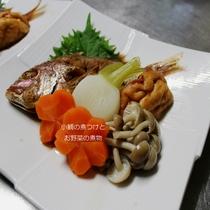 170714 コダイの煮付け&お野菜の煮物
