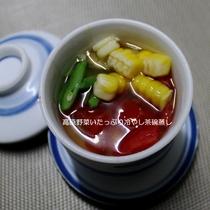 170714 高原野菜たっぷり!の冷やし茶わん蒸し